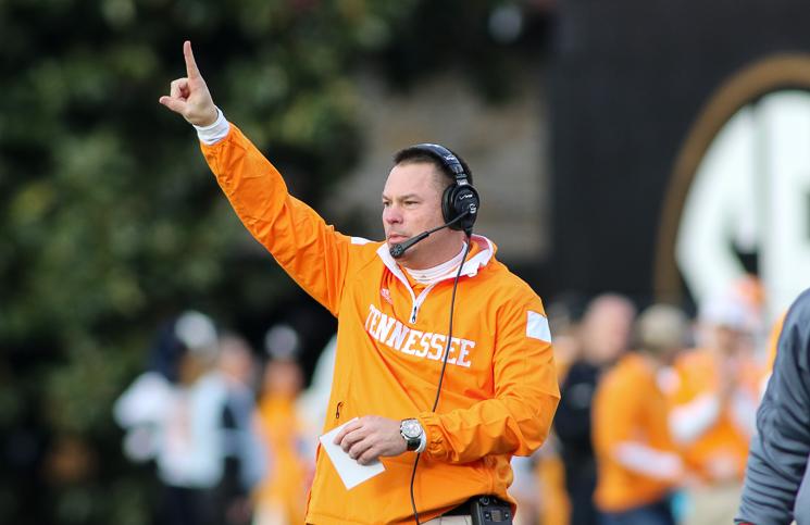 Tennessee Volunteers Butch Jones